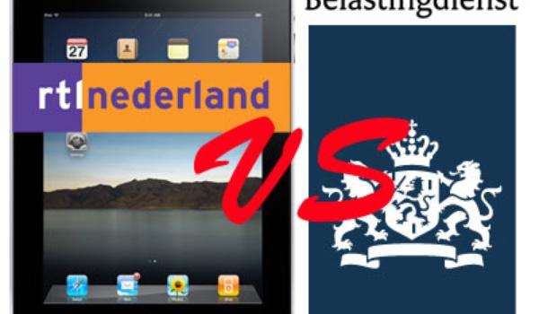 RTL-iPad kan te veel volgens belastingdienst