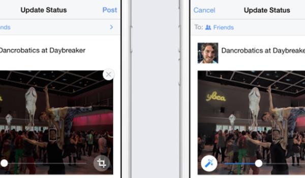Facebook past automatisch je foto's aan