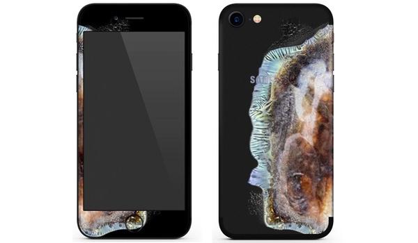 iPhone lijkt door dit hoesje op ontplofte Galaxy Note 7