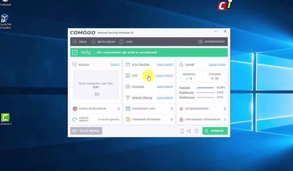 Voel je veilig met Comodo Internet Security (2)