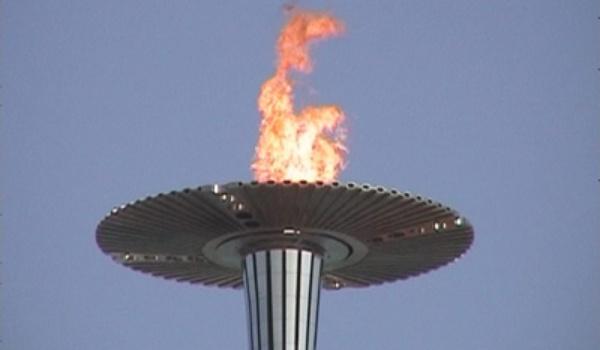 Olympische fakkel misbruikt voor hoax