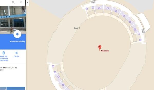 Bezoek Rio's Olympische stadions met Google Maps