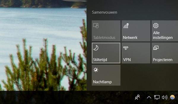 Stiltetijd in Windows 10 wordt slimmer