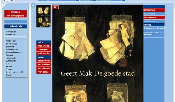 Gratis: essay van Geert Mak als e-book