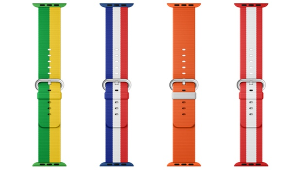 Apple Watch-bandjes vieren Olympische Spelen