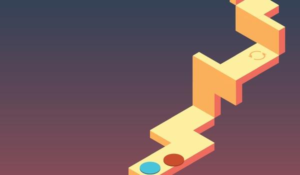 Skyward - Mobiele game in M.C. Escher-stijl