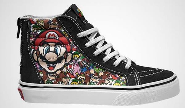 Vans komt met Nintendo-schoenen voor Mario-fans
