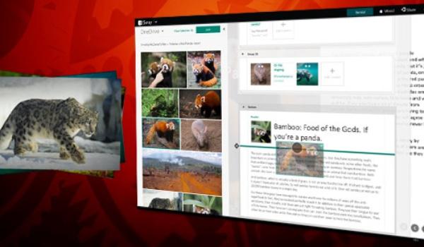 Presentaties maken met Sway (3): Documenten en grafieken toevoegen