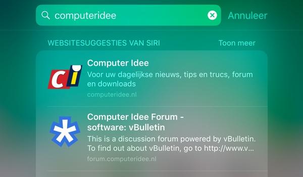 Apple stapt over van Bing naar Google