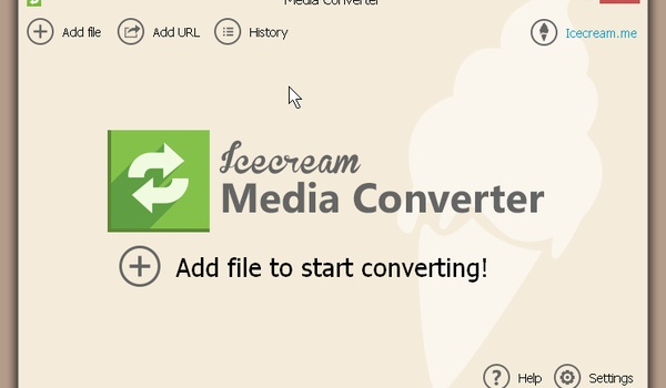 Icecream Media Converter - Converteer allerlei verschillende bestandsformaten