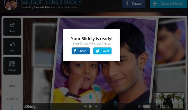 Foto's presenteren met Slidely Gallery