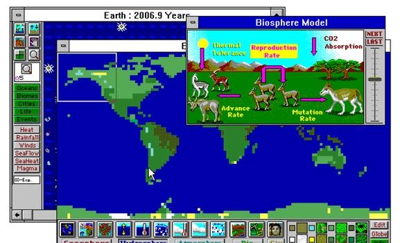 SimEarth - Bouw je eigen aarde in deze online game