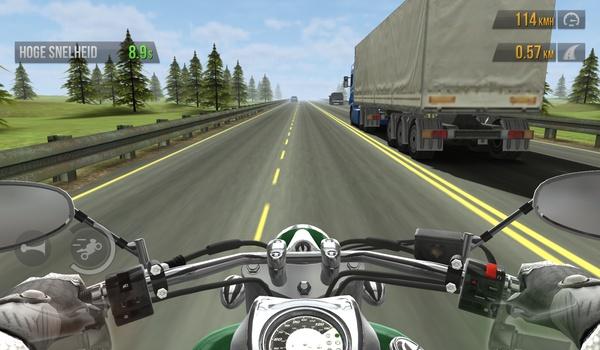 Traffic Rider - Stuur je motor door druk verkeer