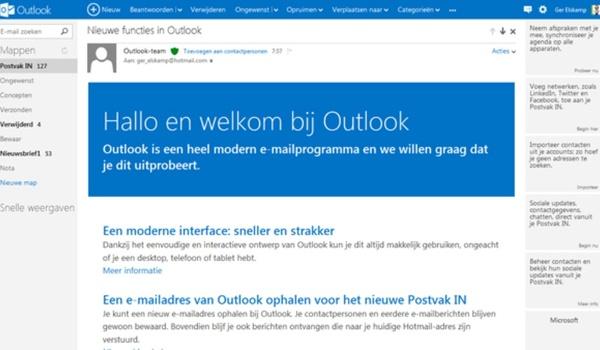 Outlook-gegevensbestand importeren en exporteren