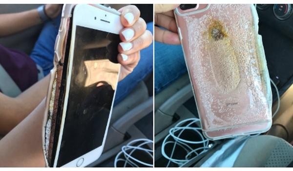 Apple onderzoekt zaak rond exploderende iPhone 7