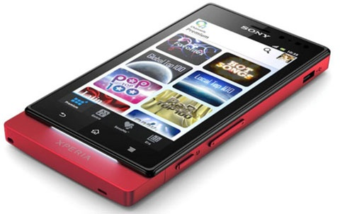 Xperia Sola met floating touch