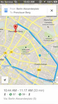 Google Maps iOS 6 Berlin