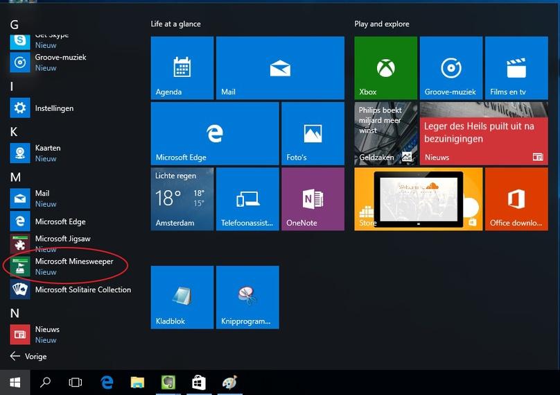 Windows 10 gratis spelletjes als patience en mijnenveger vinden computer idee - Werkblad eindigen ...