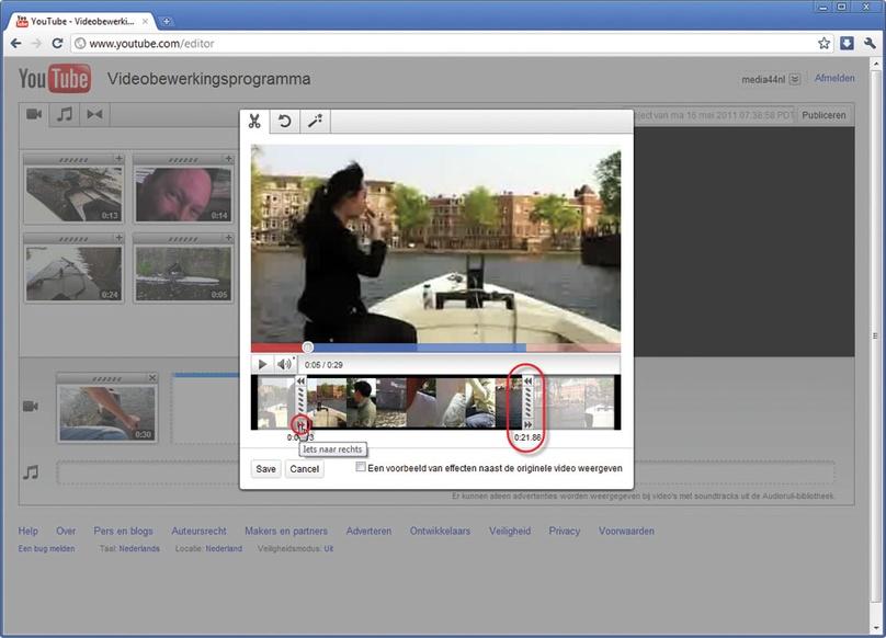 videofragmenten bewerken
