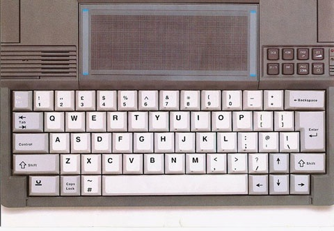 Psion touchpad