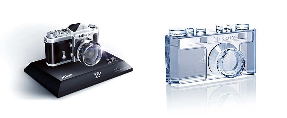 Nikon viert jubileum met miniatuur Model-F