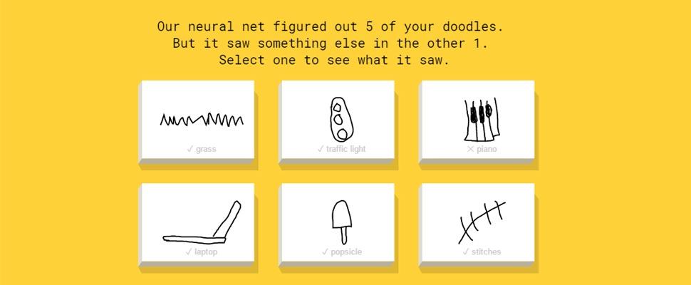 AI van Google herkent je tekeningen in Quick, Draw!