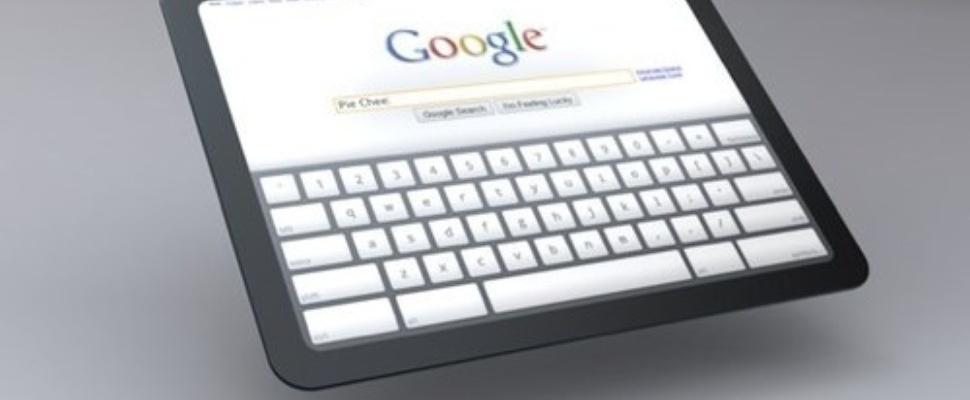 Google ontwikkelt Chrome-tablet