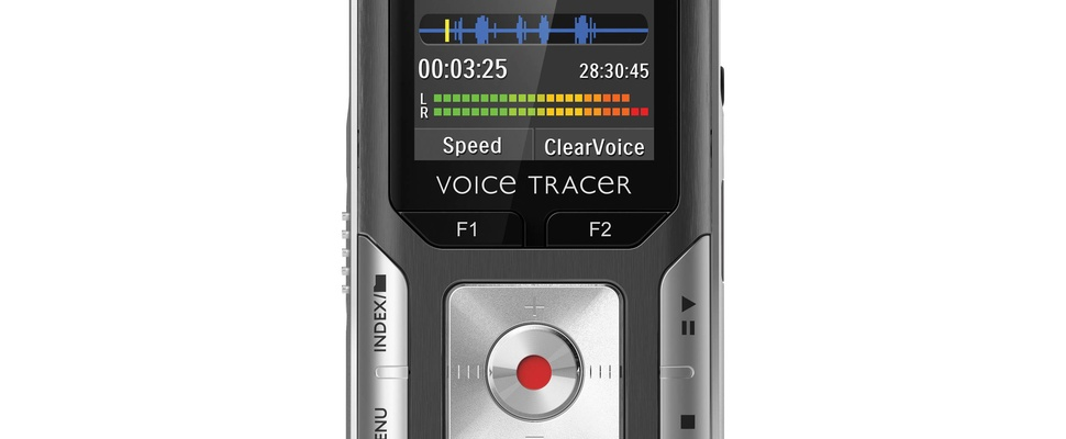 Review: Philips Digital Voice Tracer DVT-6000