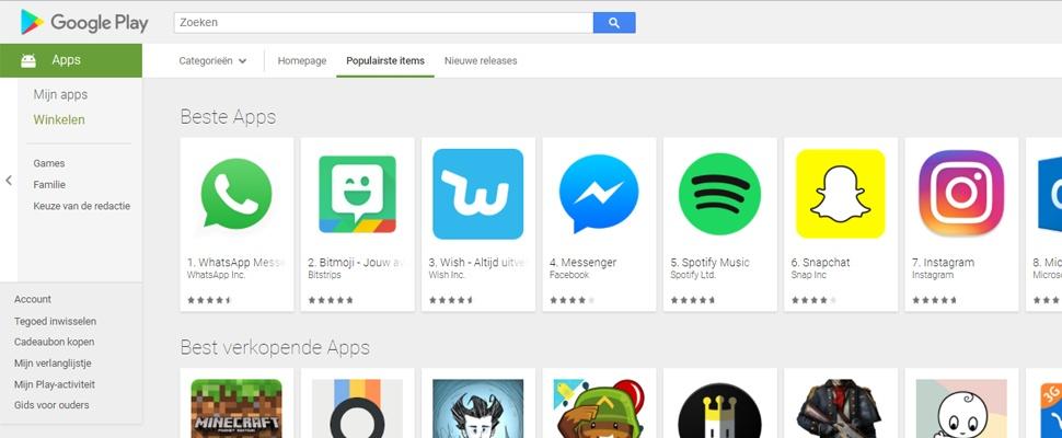 Consumentenbond haalt frauduleuze apps uit Play Store