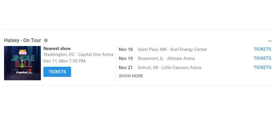 Concertkaartjes straks te koop via YouTube