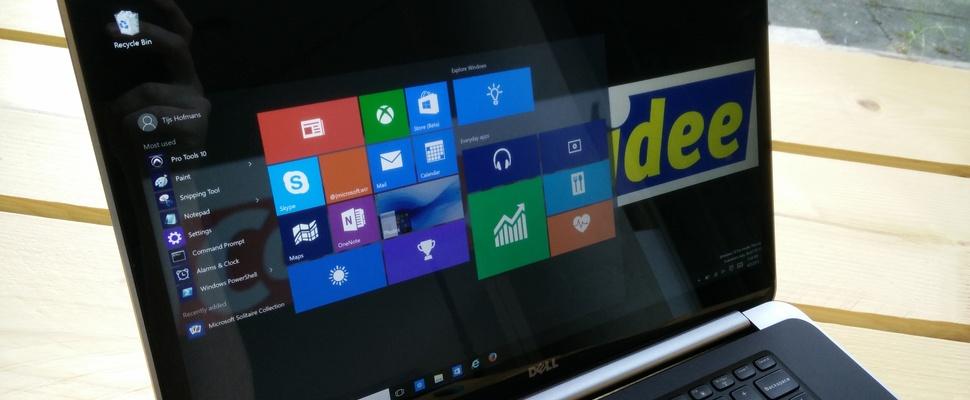 7 verborgen trucjes in Windows 10