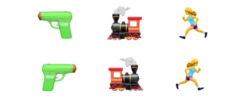 Emoji vanaf 2018 om te keren