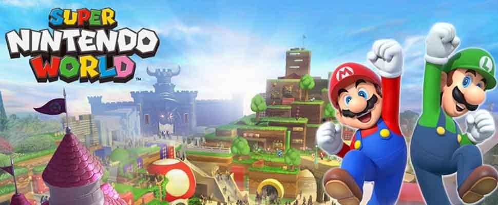 Super Mario-pretpark opent in 2020 de deuren
