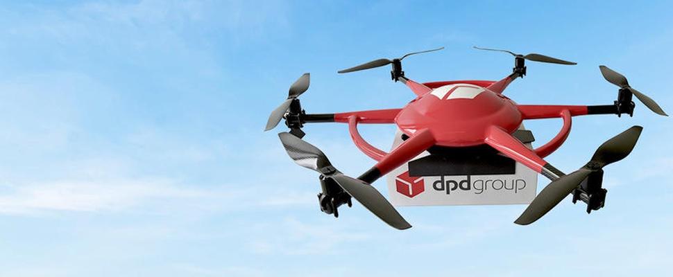 Franse drones bezorgen pakketpost