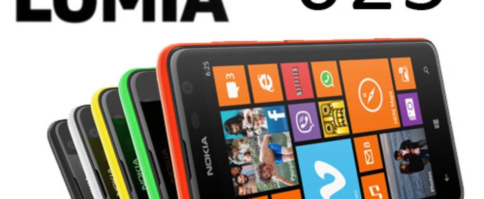 Nokia Lumia 625: Betaalbare 4G-smartphone