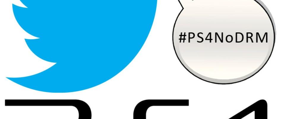 Twitter-offensief gamers tegen PS4 DRM