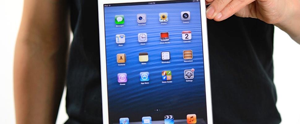 Tabletonderzoek: iPad reageert het beste op vingeraanrakingen