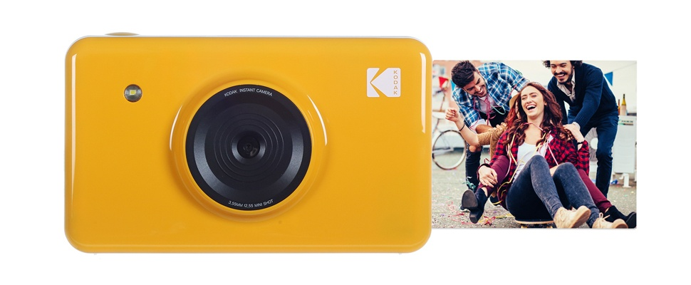 MiniShot Instant Camera tevens mobiele printer
