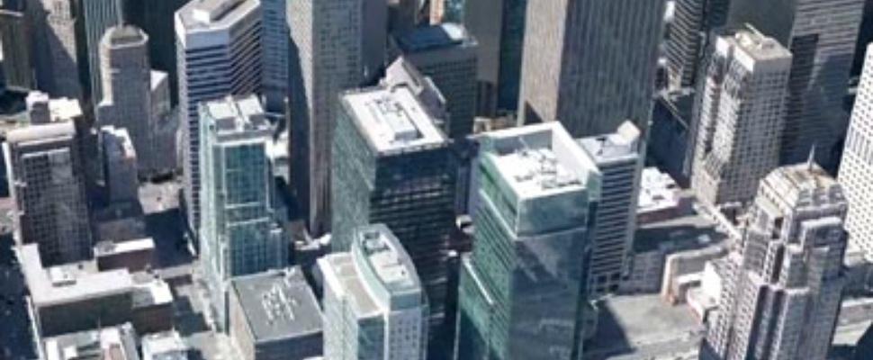 Google Earth 3D-steden op mobiel