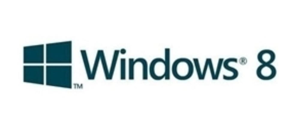 Windows 8 met nieuw logo