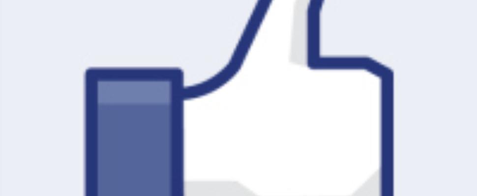 Facebook-duim verdwijn...