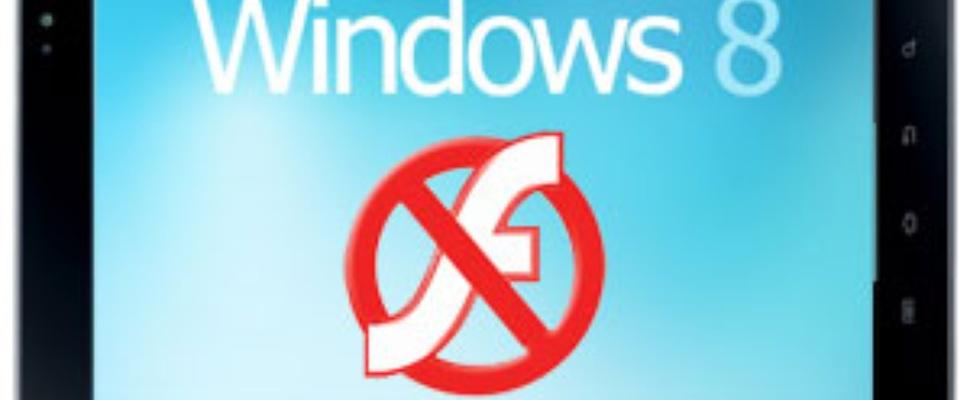 Windows 8 zonder Flash