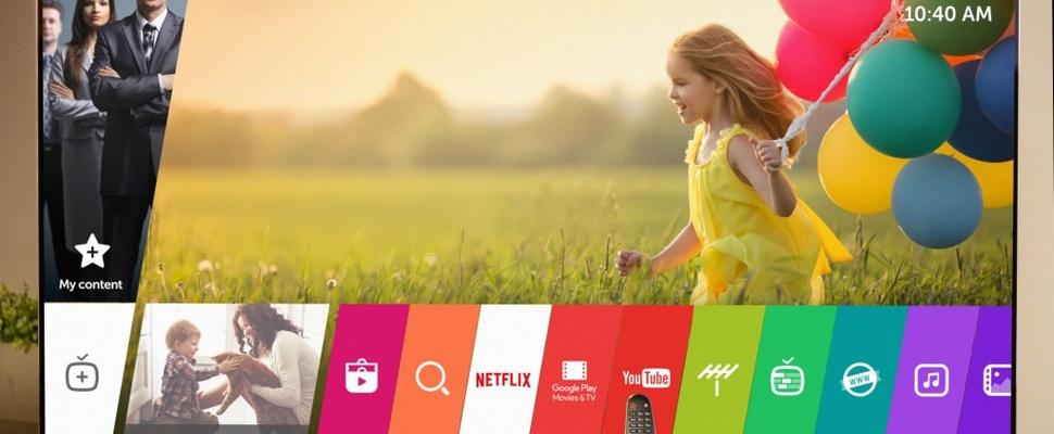 LG maakt televisies in 2016 slimmer met WebOS 3
