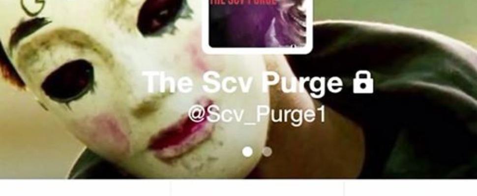 Hashtag-trend The Purge loopt uit de hand
