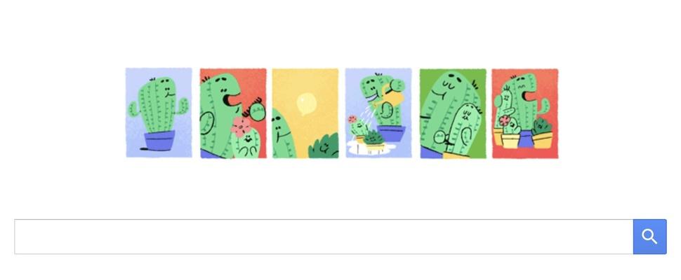 Vaderdag 2017, natuurlijk met een Google doodle