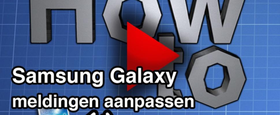 Video - How to: meldingen aanpassen op de smartphone