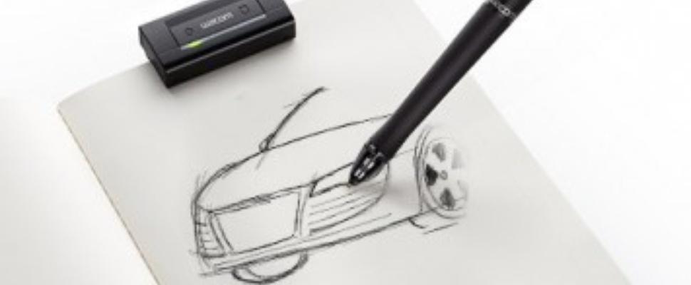 Wacom inkling digitaal tekenen op papier computer idee for Zelf tekenen op de computer