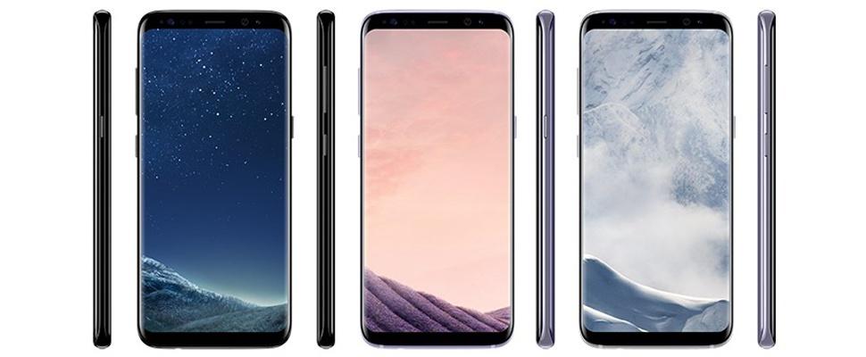 Zo ziet de Samsung Galaxy S8 er uit