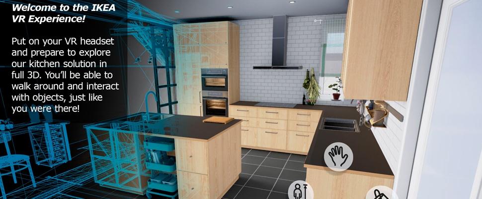 Kijkje in de keuken bij IKEA dankzij 'virtual reality-beleving'