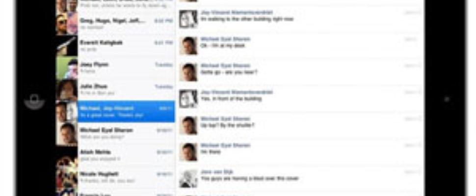 Facebook iPad app offcieel uit